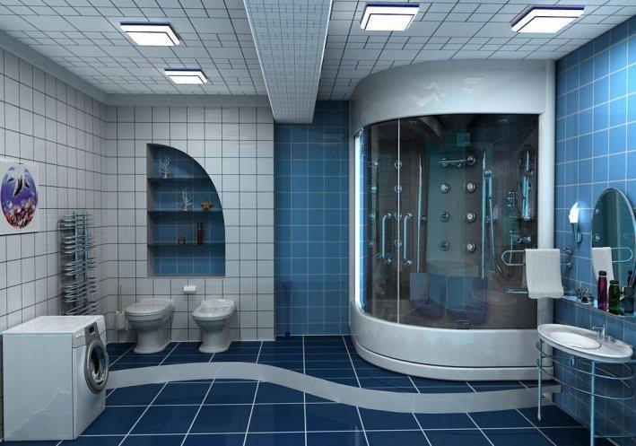 Євроремонт ванної кімнати (54