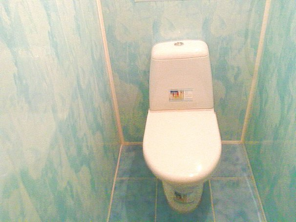 Оздоблення туалету пластиковими