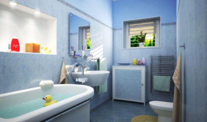 стінові панелі у ванній