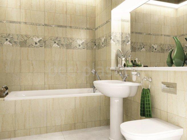 дизайн ванної кімнати панелями