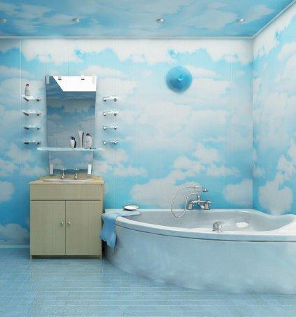 Ванна кімната з пластика