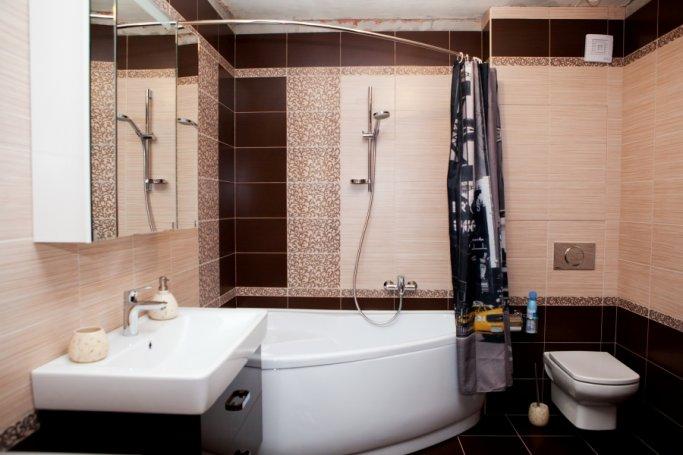 Фотографии ремонта ванной