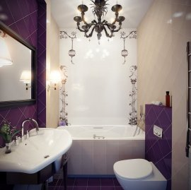 дизайн маленької ванни