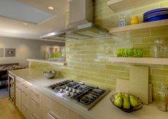 Фото - облицювання стін кухні керамічною плиткою