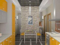 оздоблення стін на кухні з фото прикладами