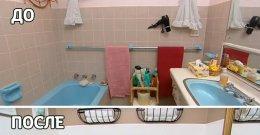 ремонт маленької ванної кімнати фото