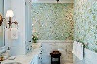 Варіанти дизайну ванної кімнати з шпалерами