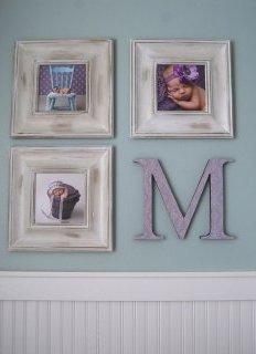 Замість четвертої фото - перша буква імені вашої дитини